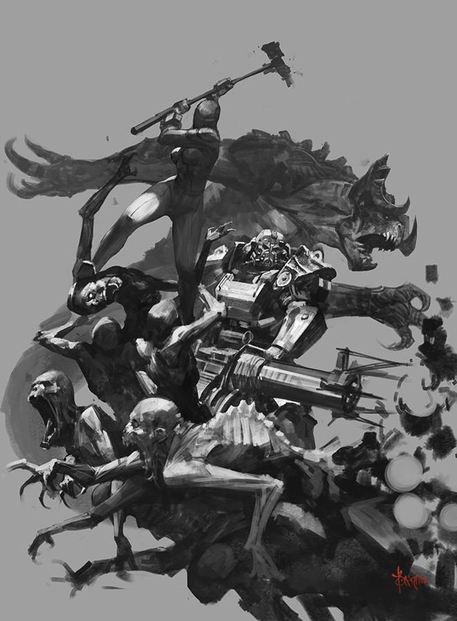 Bayard wu fallout 4 hammer 03