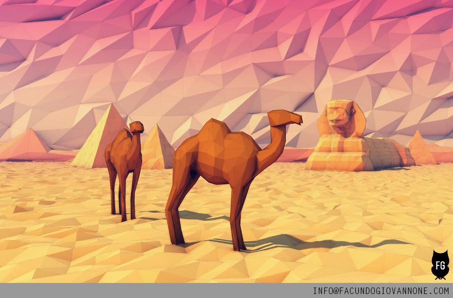 Facundo giovannone facundo giovannone 3d artist desert camel 905