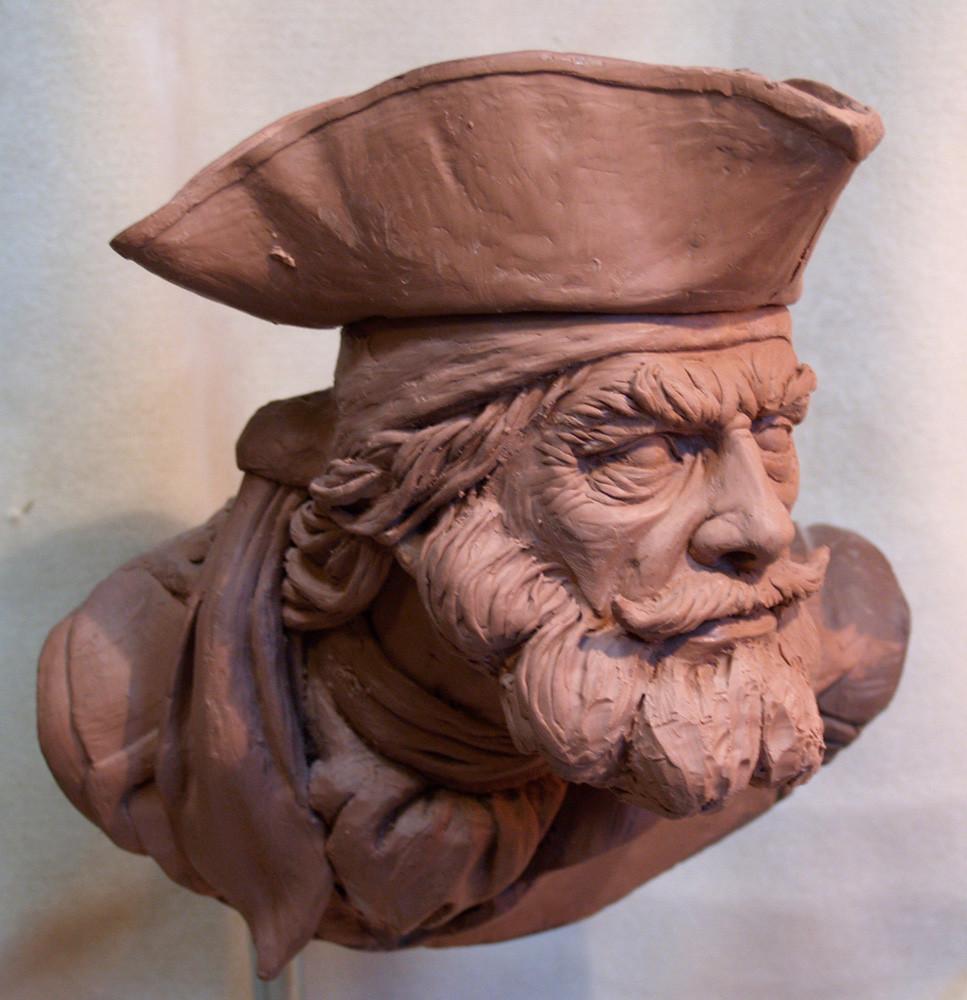 Artstation pirate sculpt preston palmer
