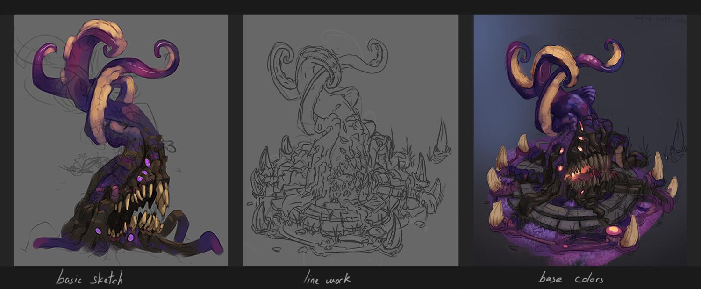 Florian moncomble tentacletree process