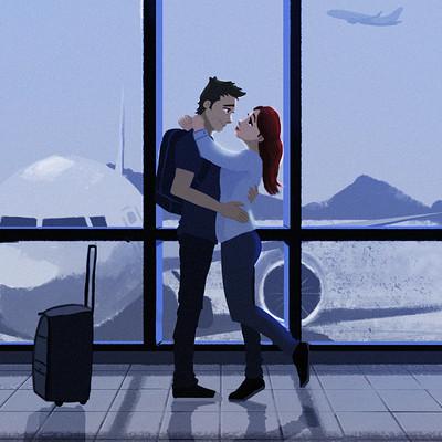 Bryan ramirez airport love