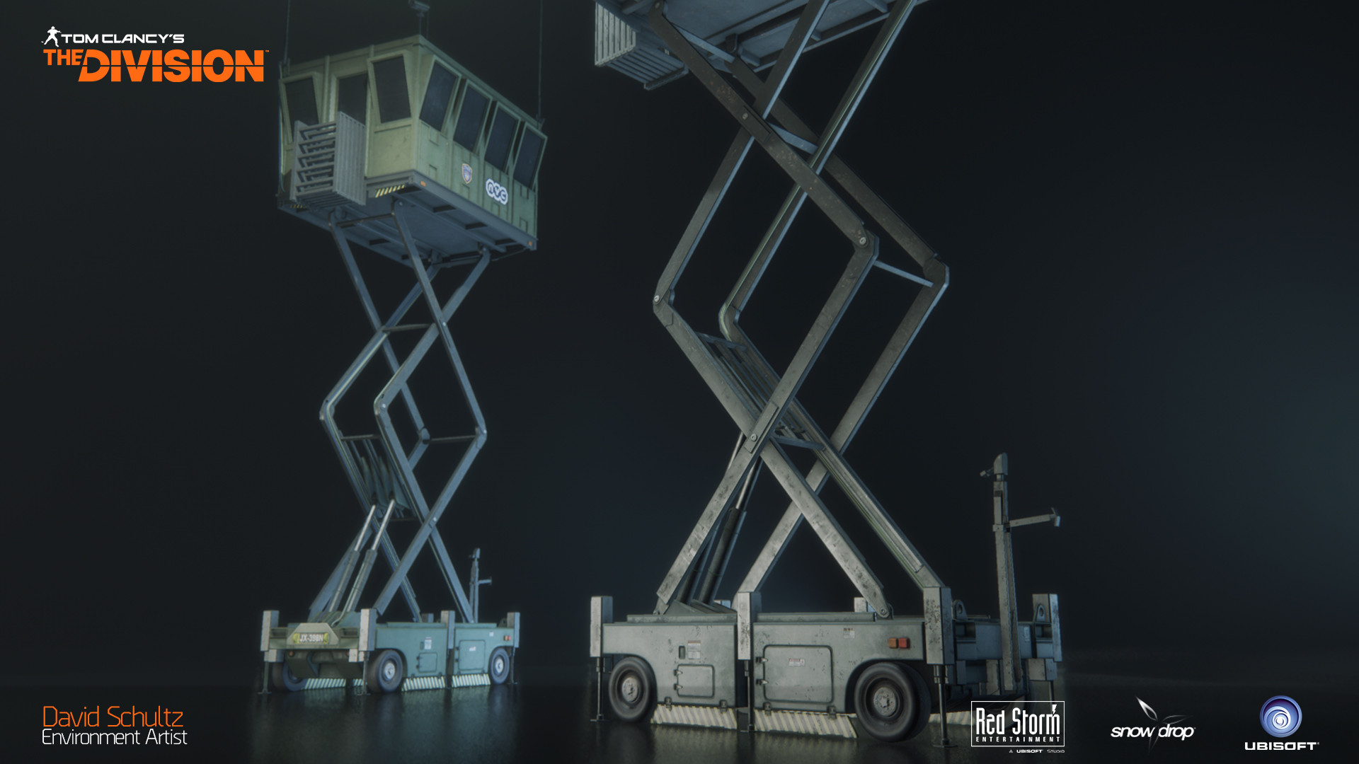 Scissor Lift Watchtower