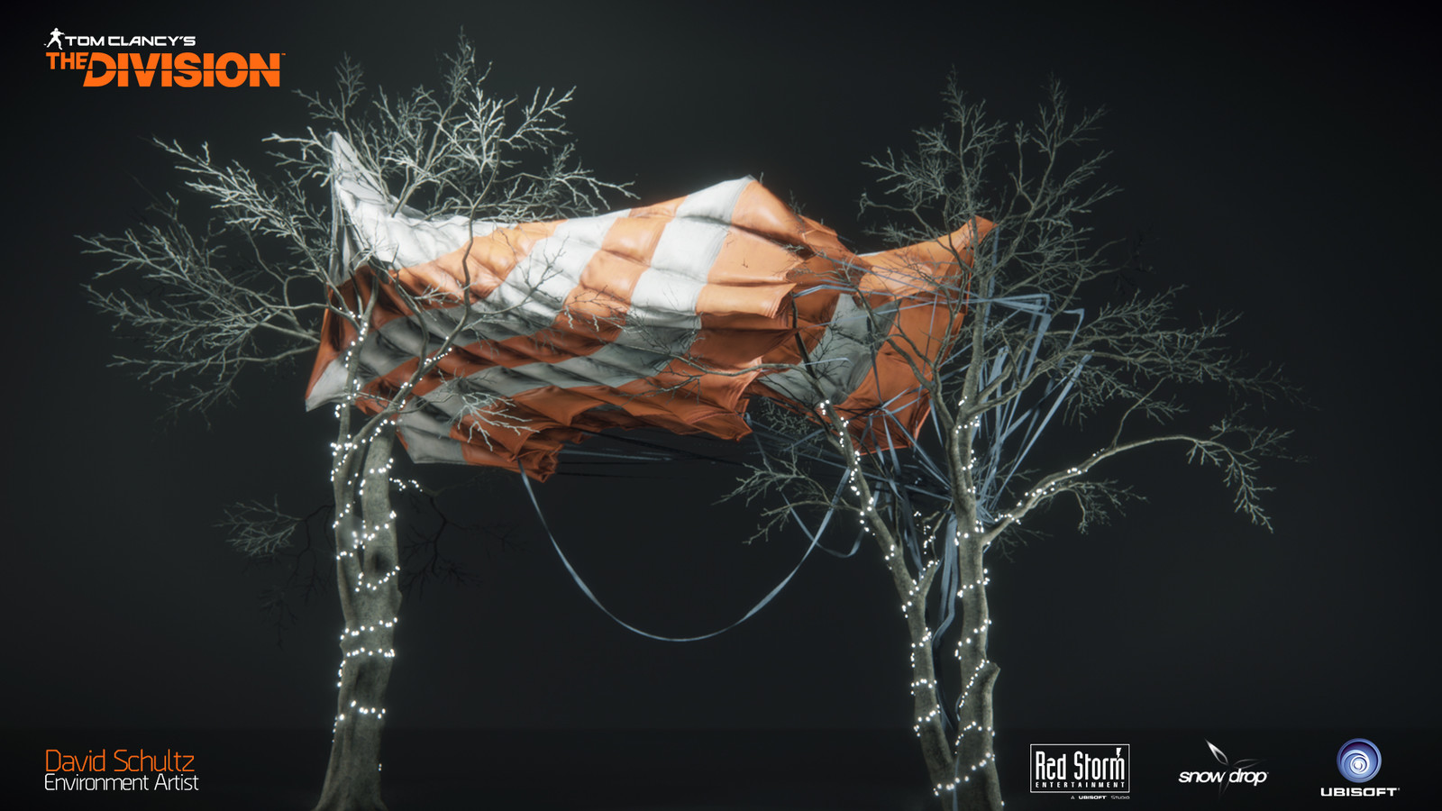 DZ Supply Drop Parachute