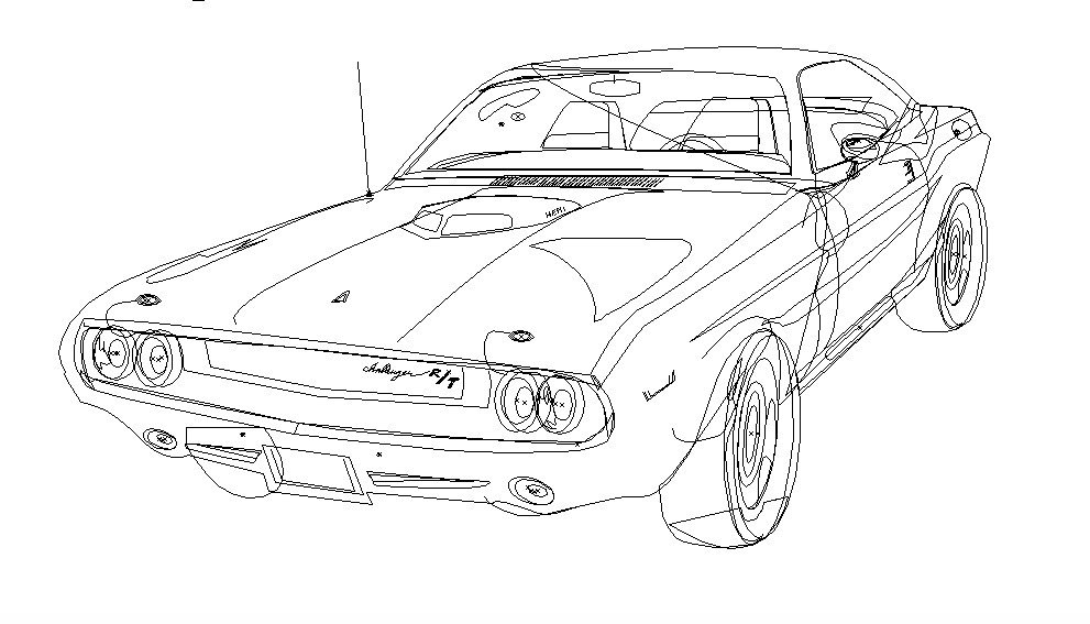 Artstation American Muscle Cars Adobe Illustrator Project