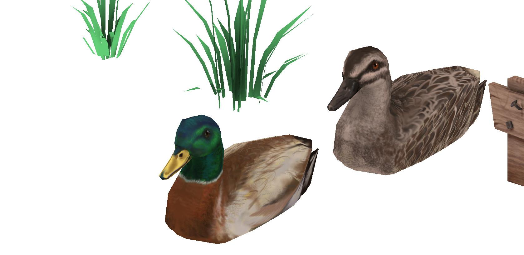 Sal vador thedarkcloak props ducks closeup