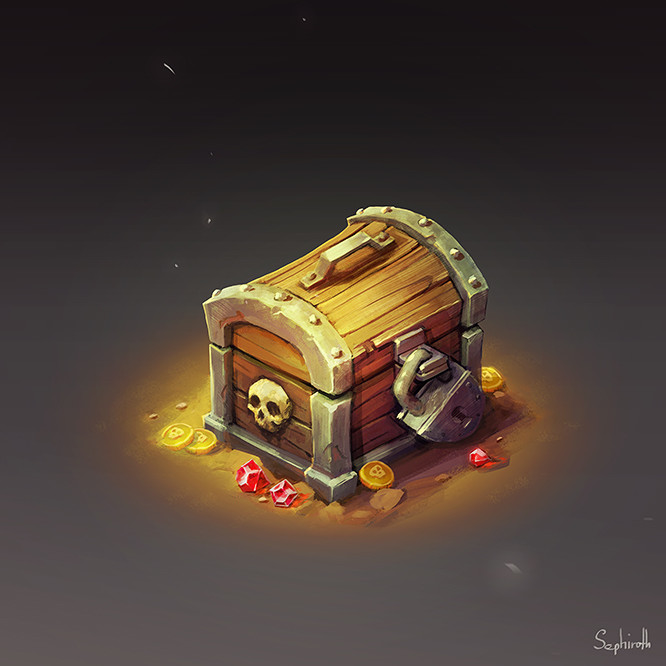 Sephiroth art chest
