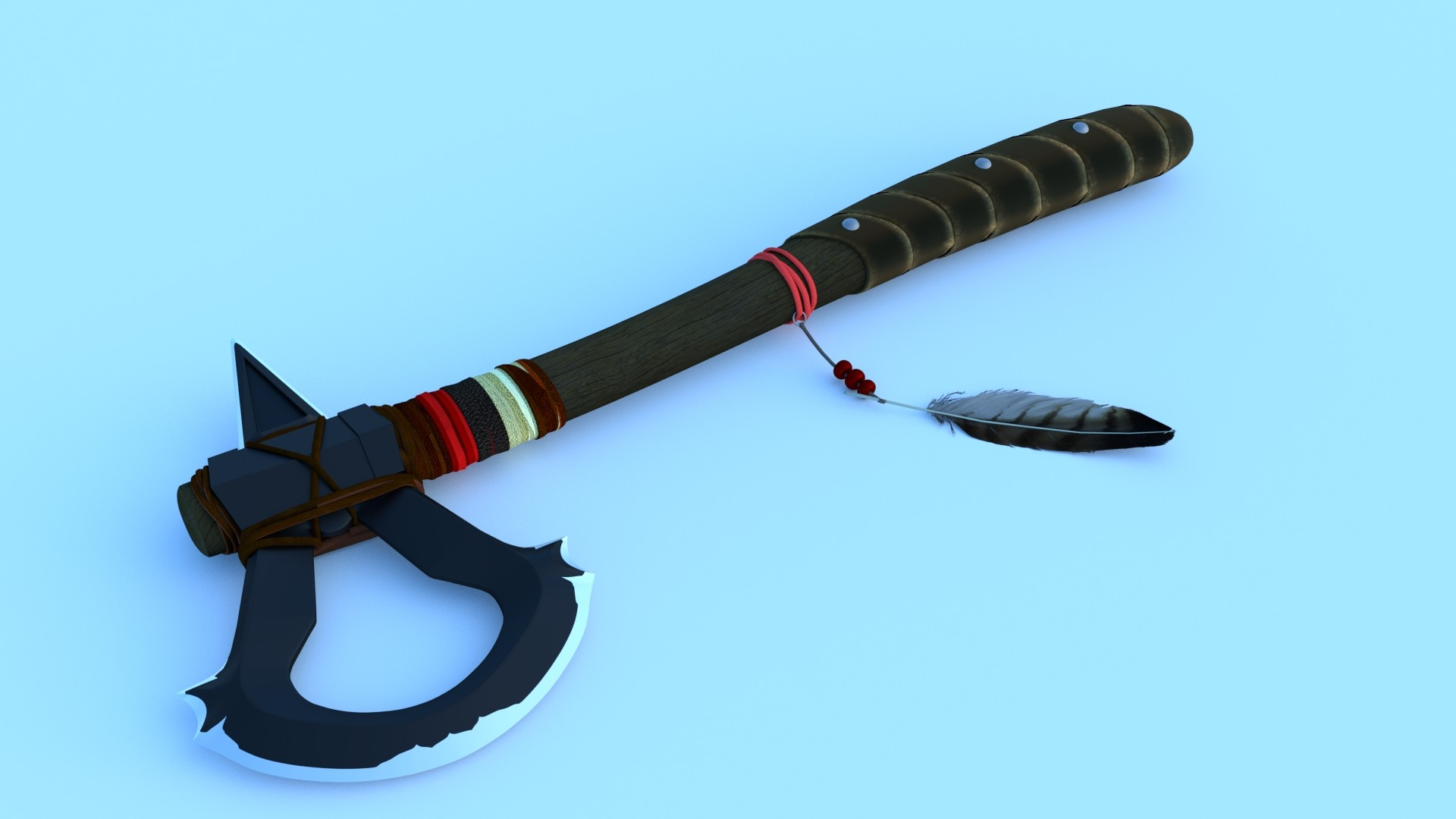 Artstation Wip Conner S Tomahawk Assassin S Creed Iii Fan