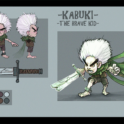 Jose samaniego kabuki the brave kid