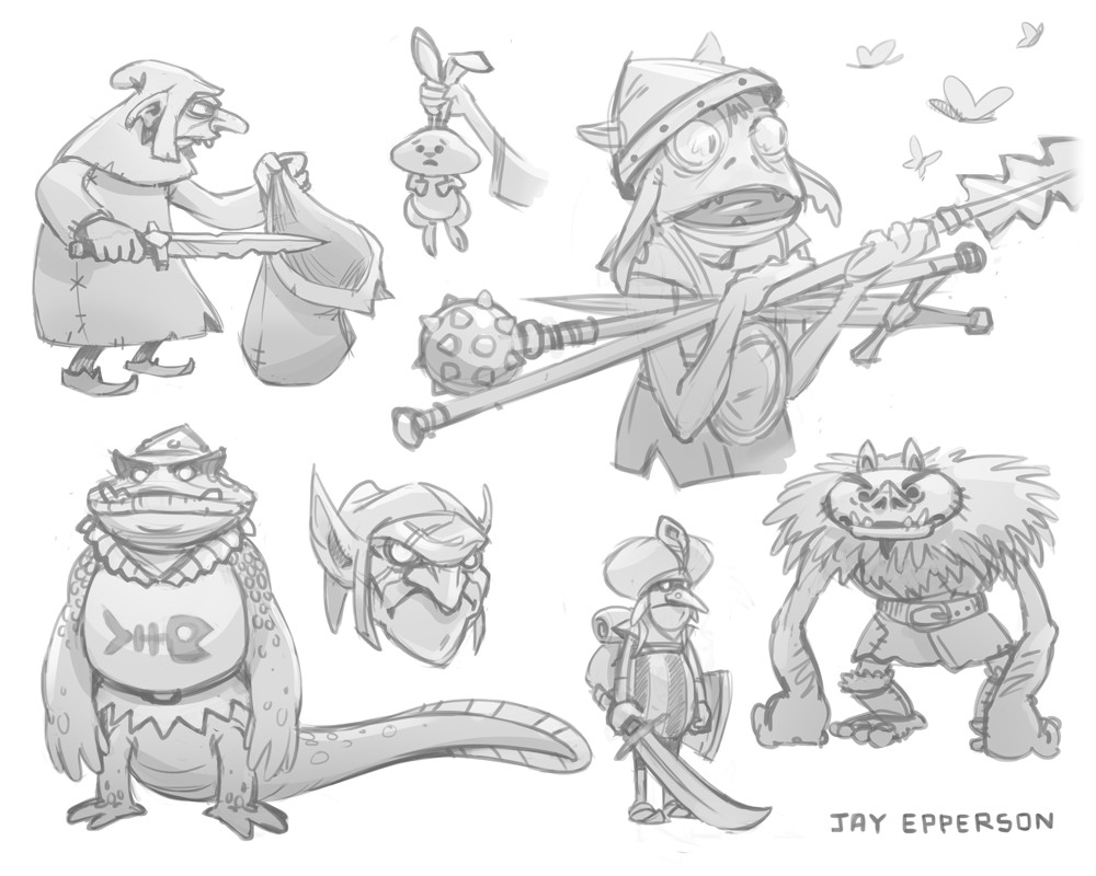 Goblin Sketches