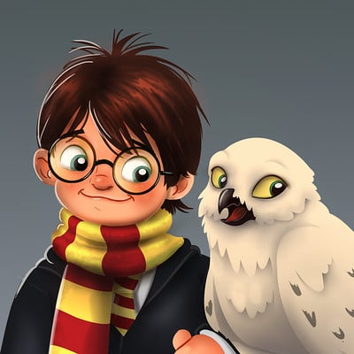 Vipin jacob harry potter hedwig clr