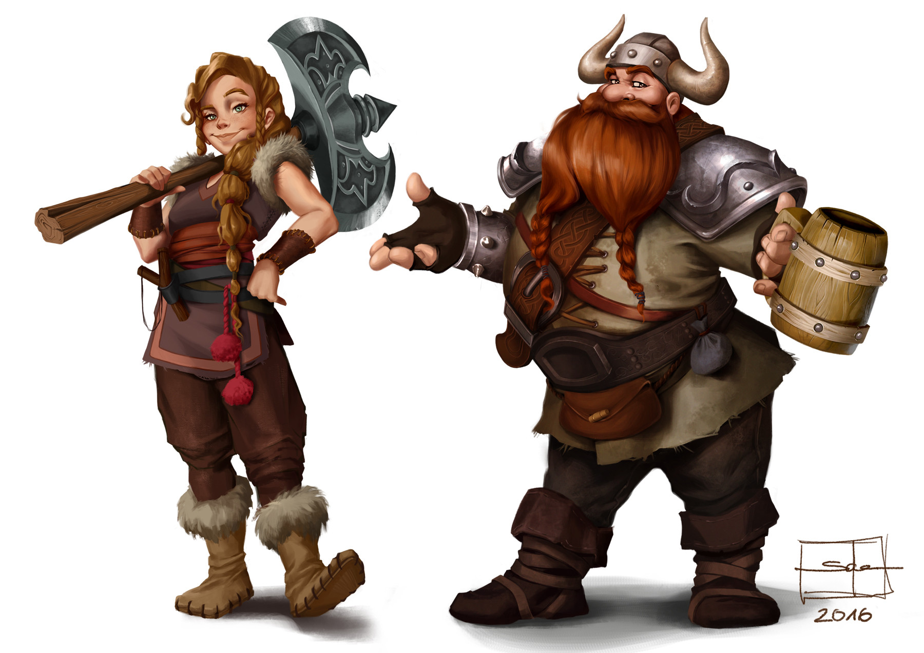 Salena barnes vikings 4
