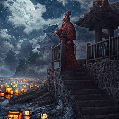 Kerem beyit lanterns and the moon rev by kerembeyit