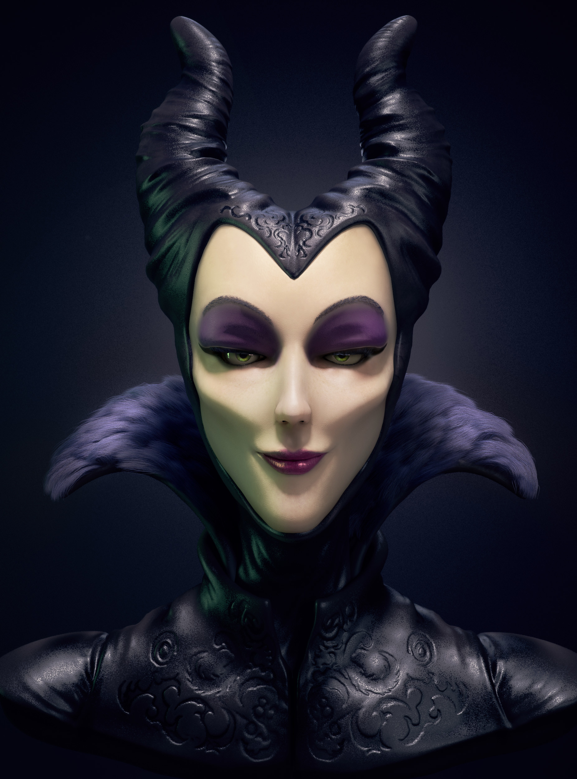 Artstation Maleficent Luan Correa Pinto
