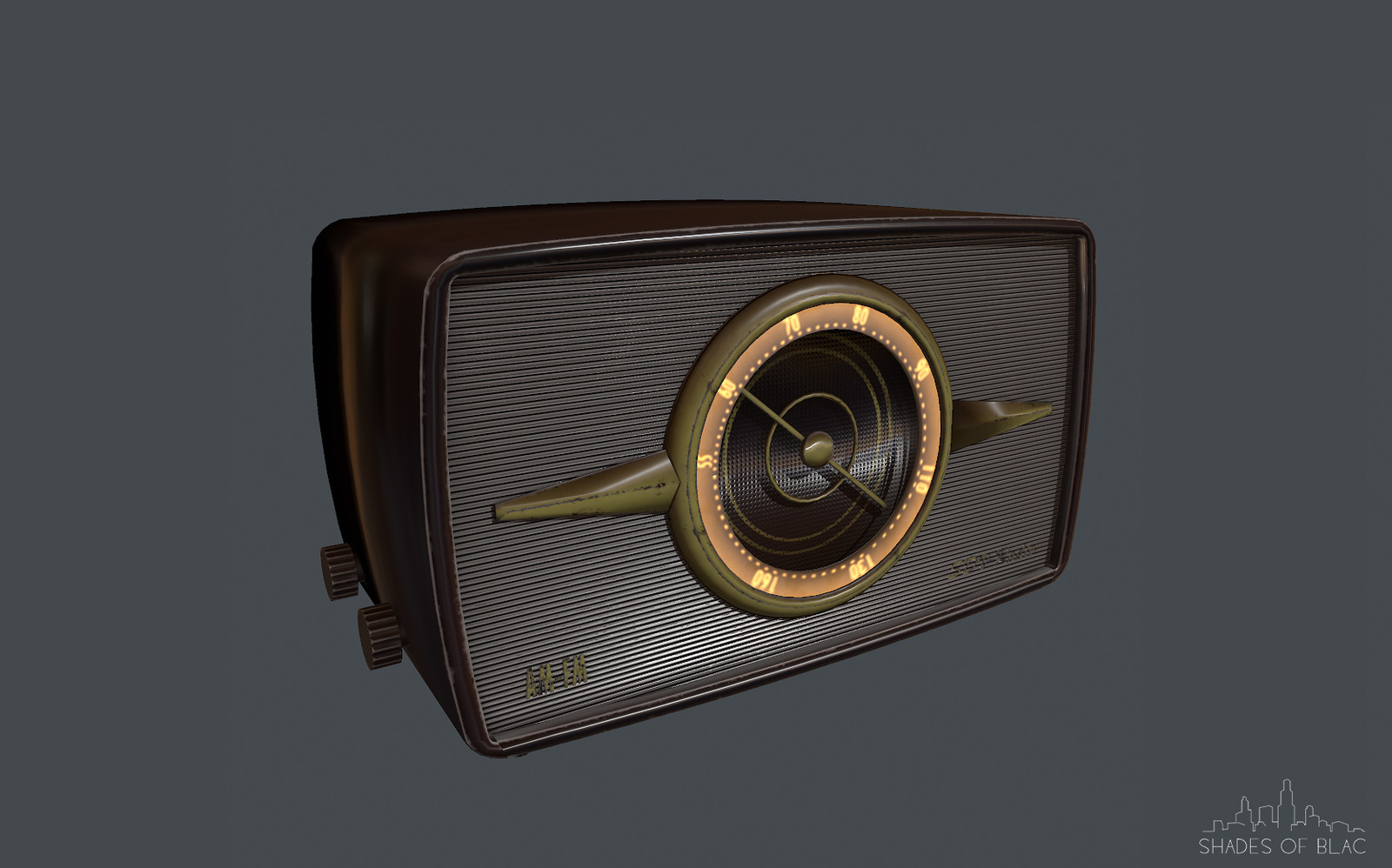Radio Low poly version