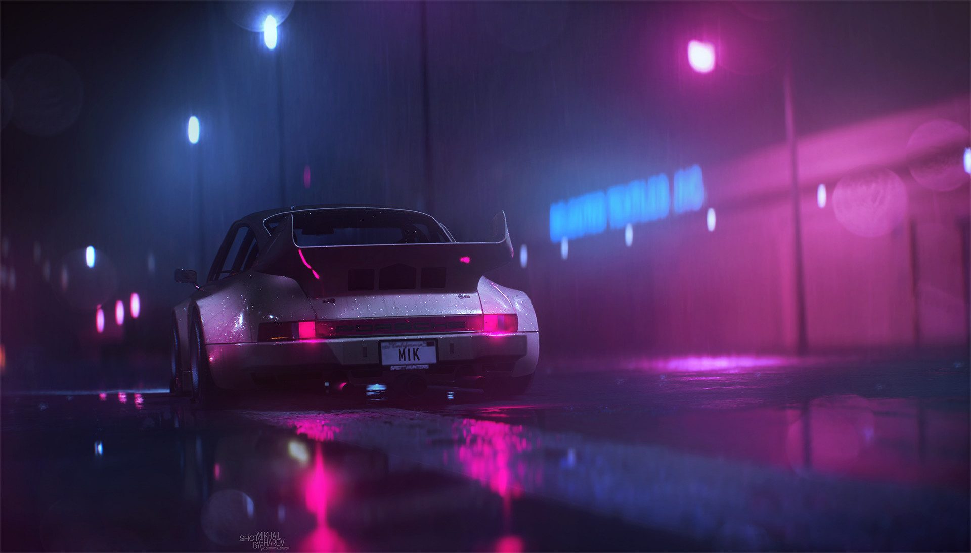 Neon nights x post r wallpapers outrun for Music city motor cars