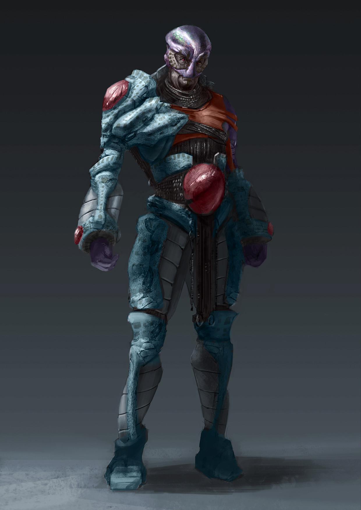 Chris leenheer alientribalwarrior02