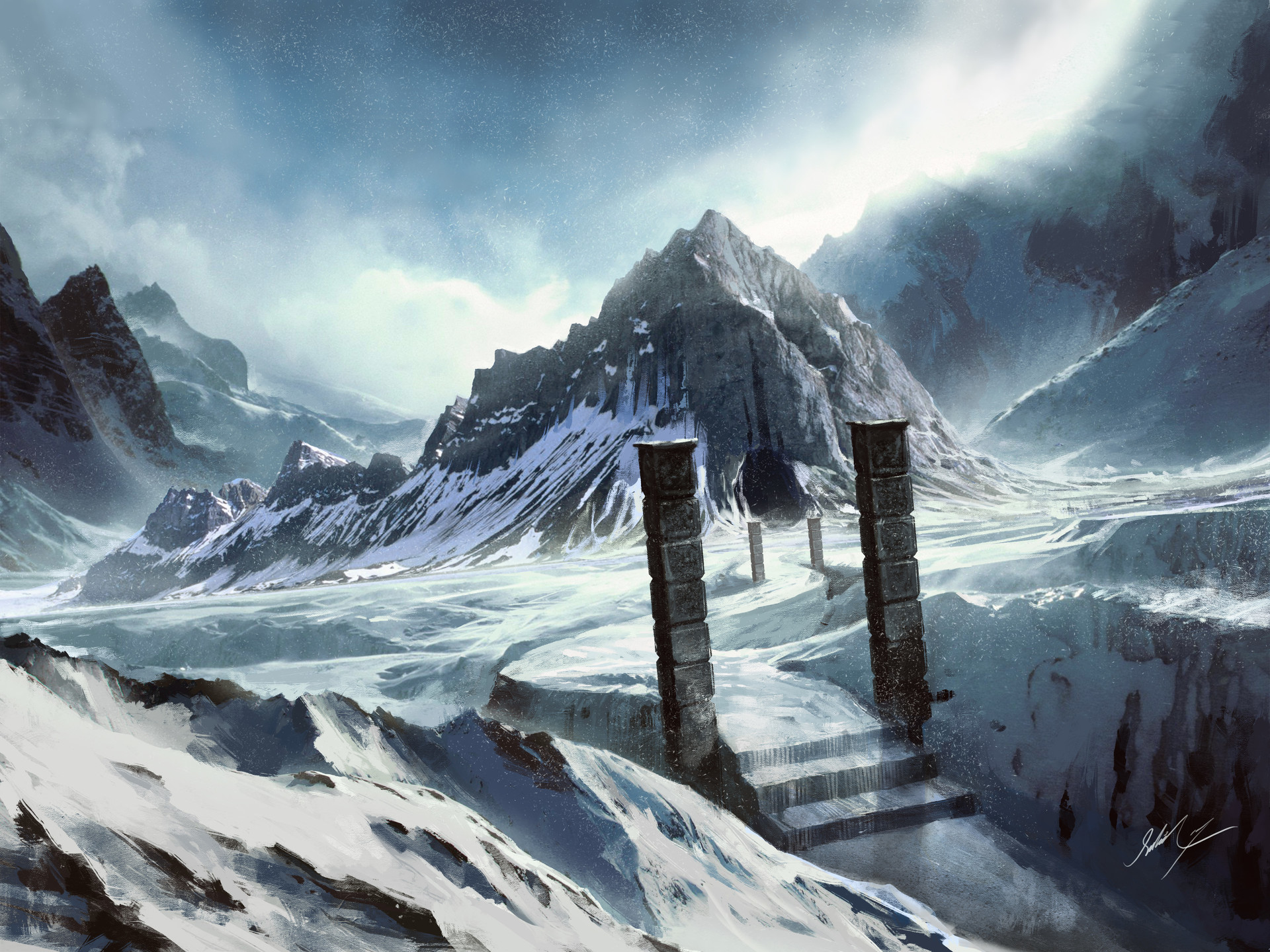 Sahil trivedi snow mountains 2