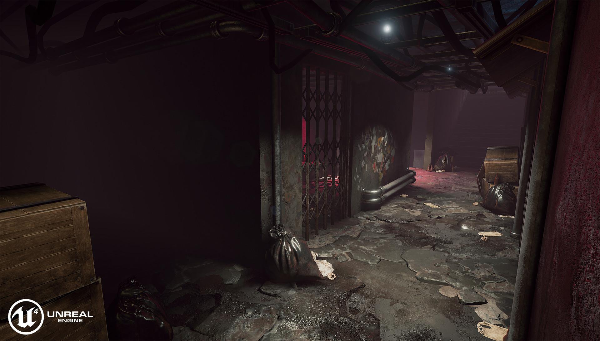 artstation ue4 kowloon walled city casino interior desmond man