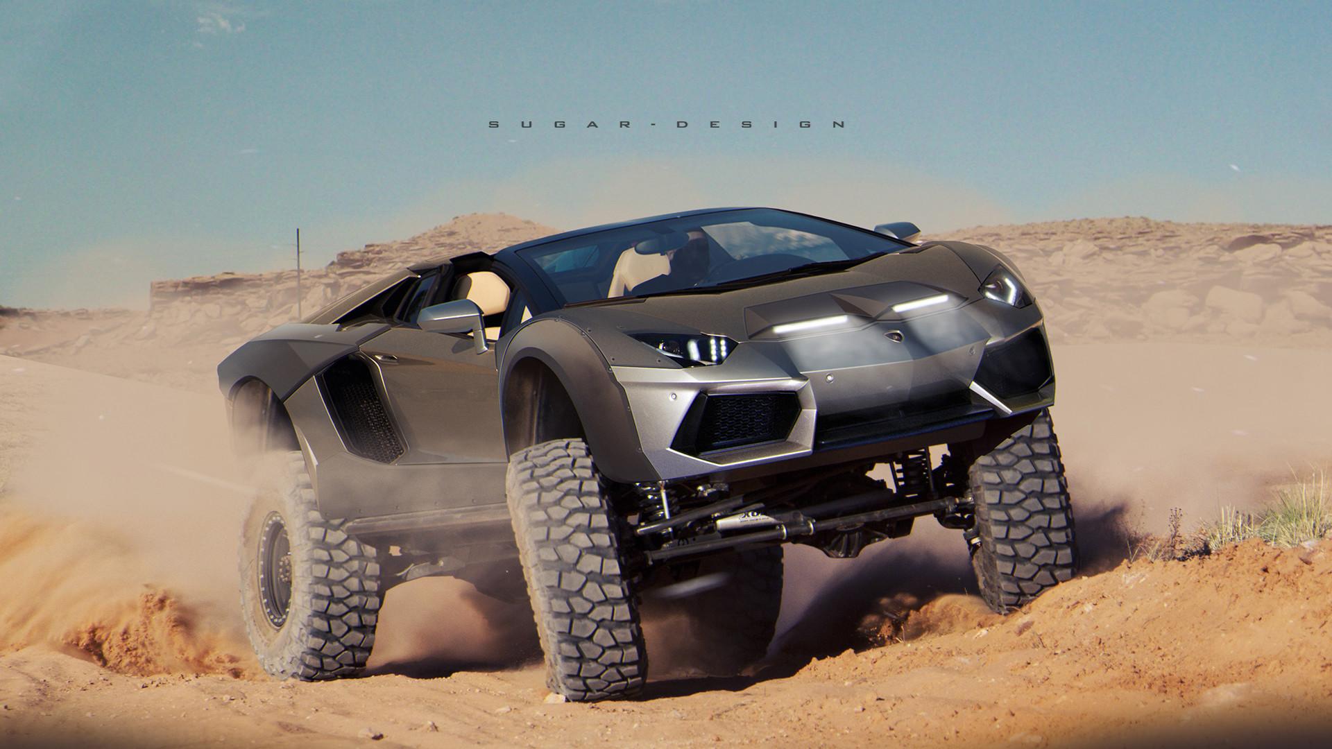 Sugar Chow Lamborghini Lm700