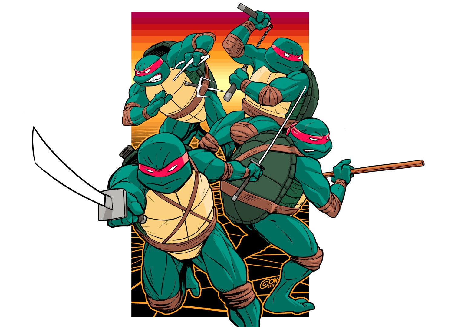 Guillaume gom poitel tmnt end5