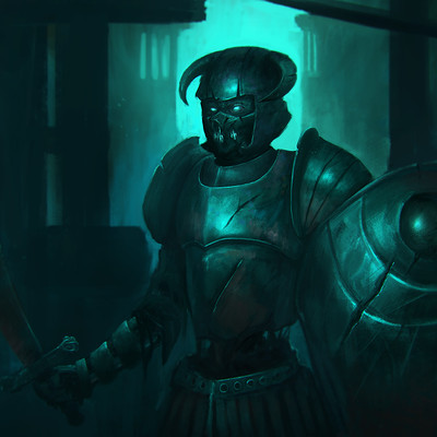 John yau spectral knight