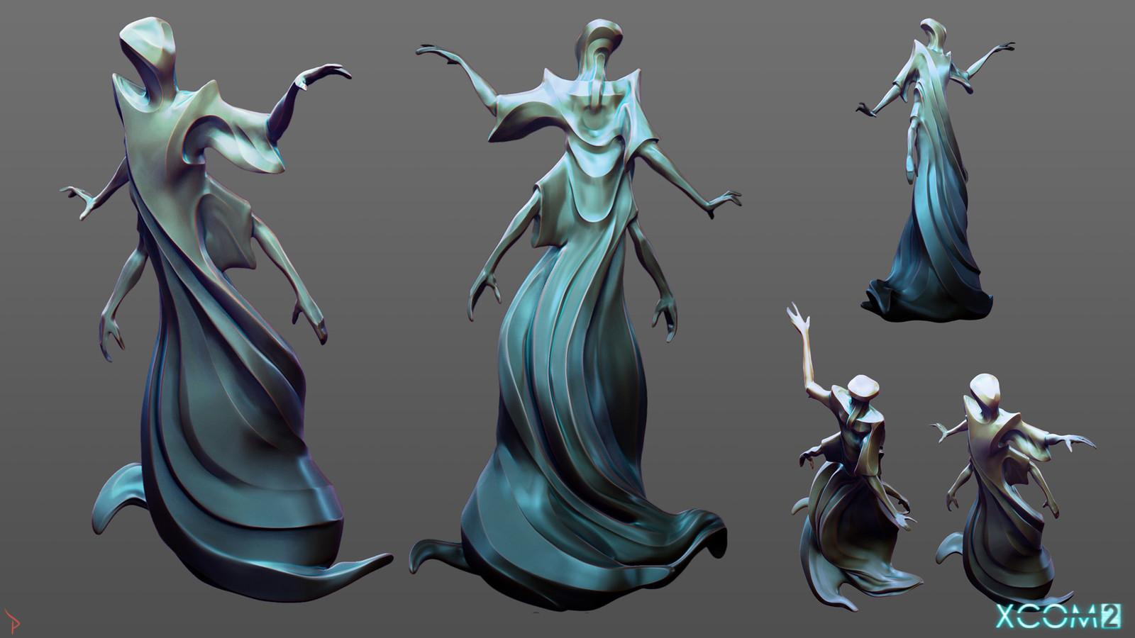 """Elder"" Statue concept"