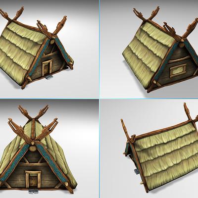 Lloyd chidgzey viking thatched house