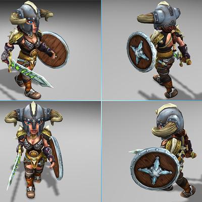 Lloyd chidgzey female viking 2