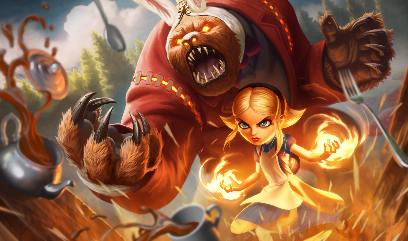 """Annie in Wonderland"" League of Legends, Riot Games"