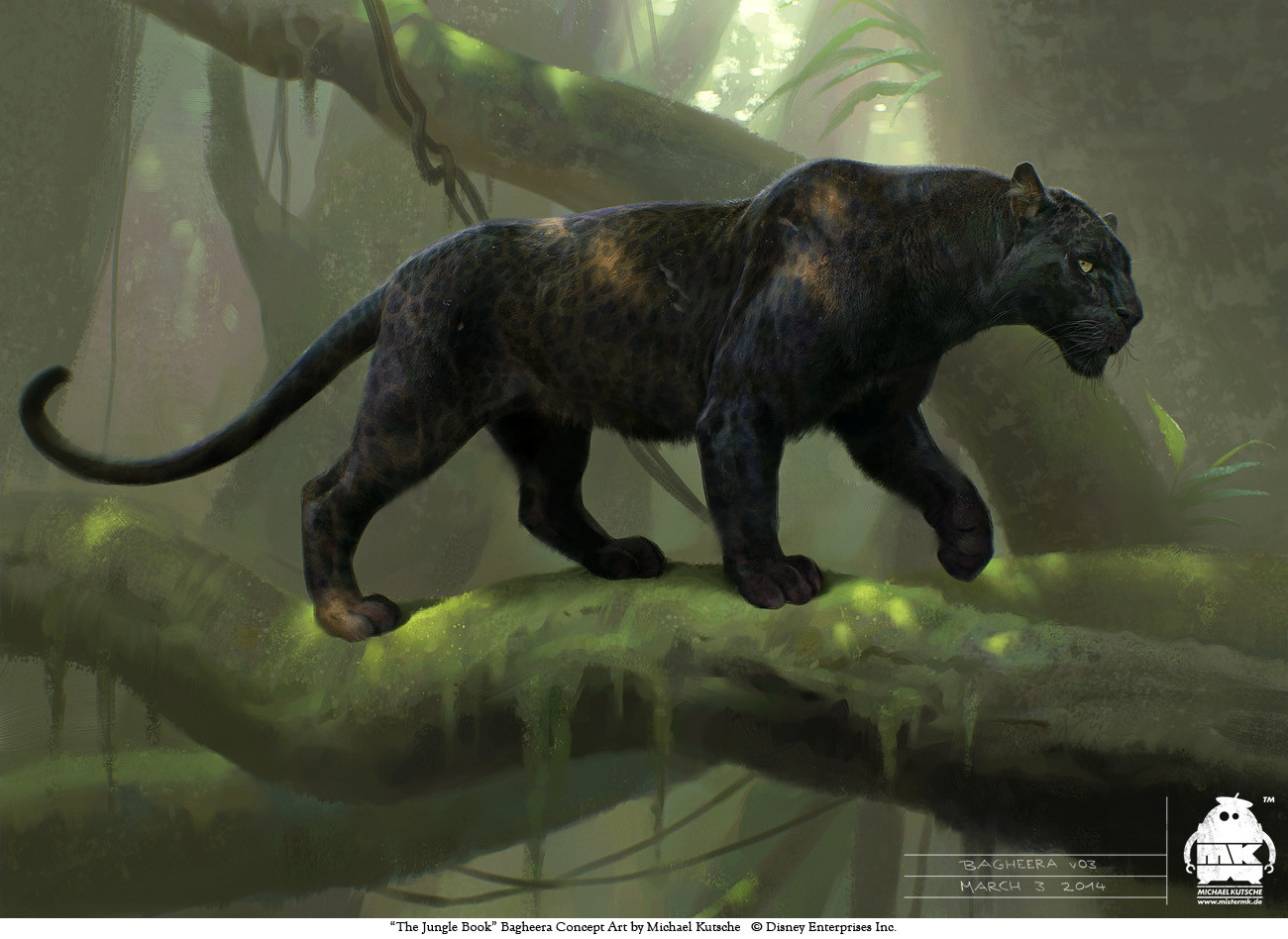 Le Livre de la Jungle [Disney - 2016] - Page 15 Michael-kutsche-bagheera-v03-by-michael-kutsche