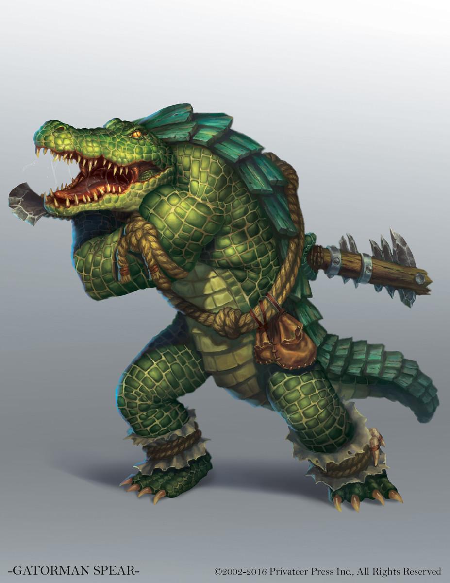 Gatorman Spear