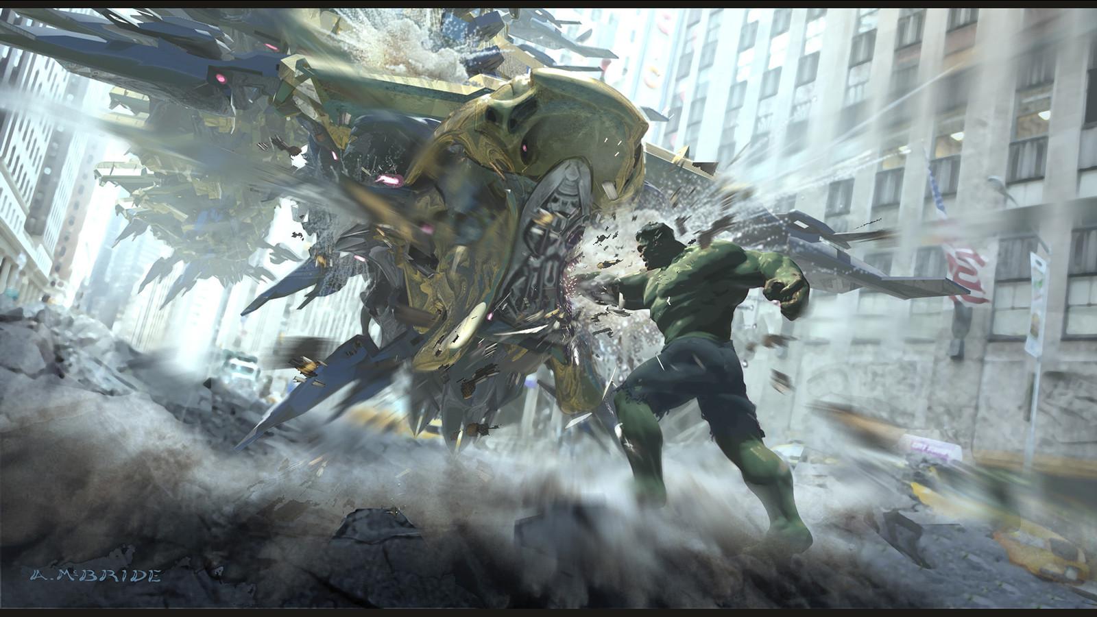 Avengers: Leviathan vs Hulk