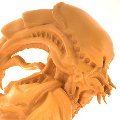 Geoffrey leclerc alien xhite