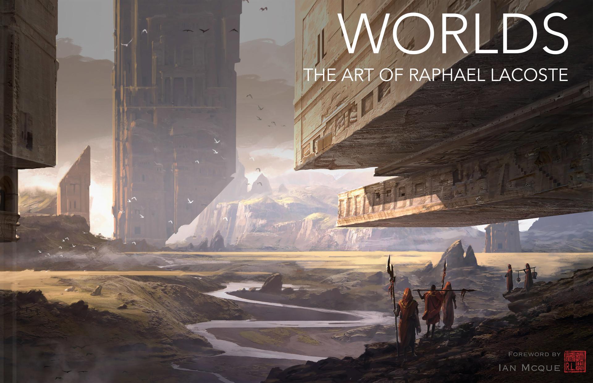 Raphael lacoste cover artbook v11