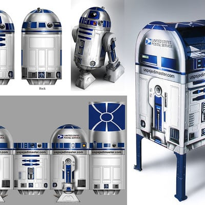 Chris scalf r2d2 mailbox by chrisscalf