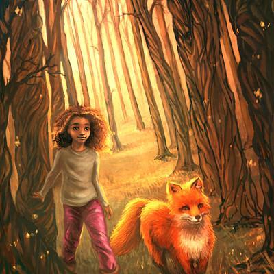 Christy tortland fiona and the fox 11x14 copy