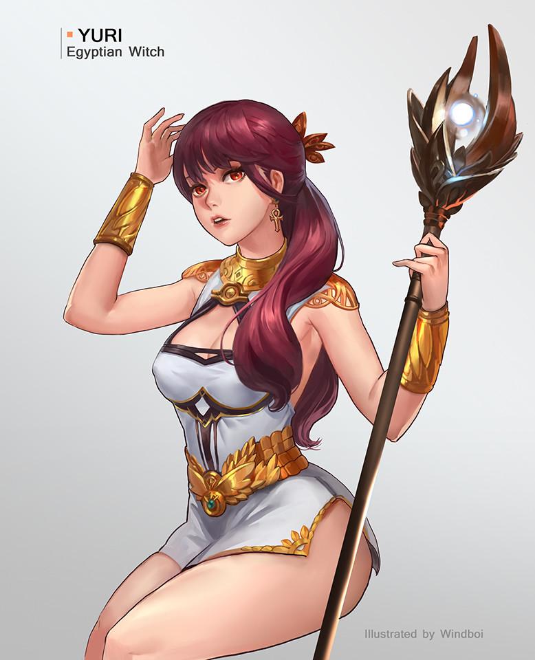 Yuri - Egyptian witch