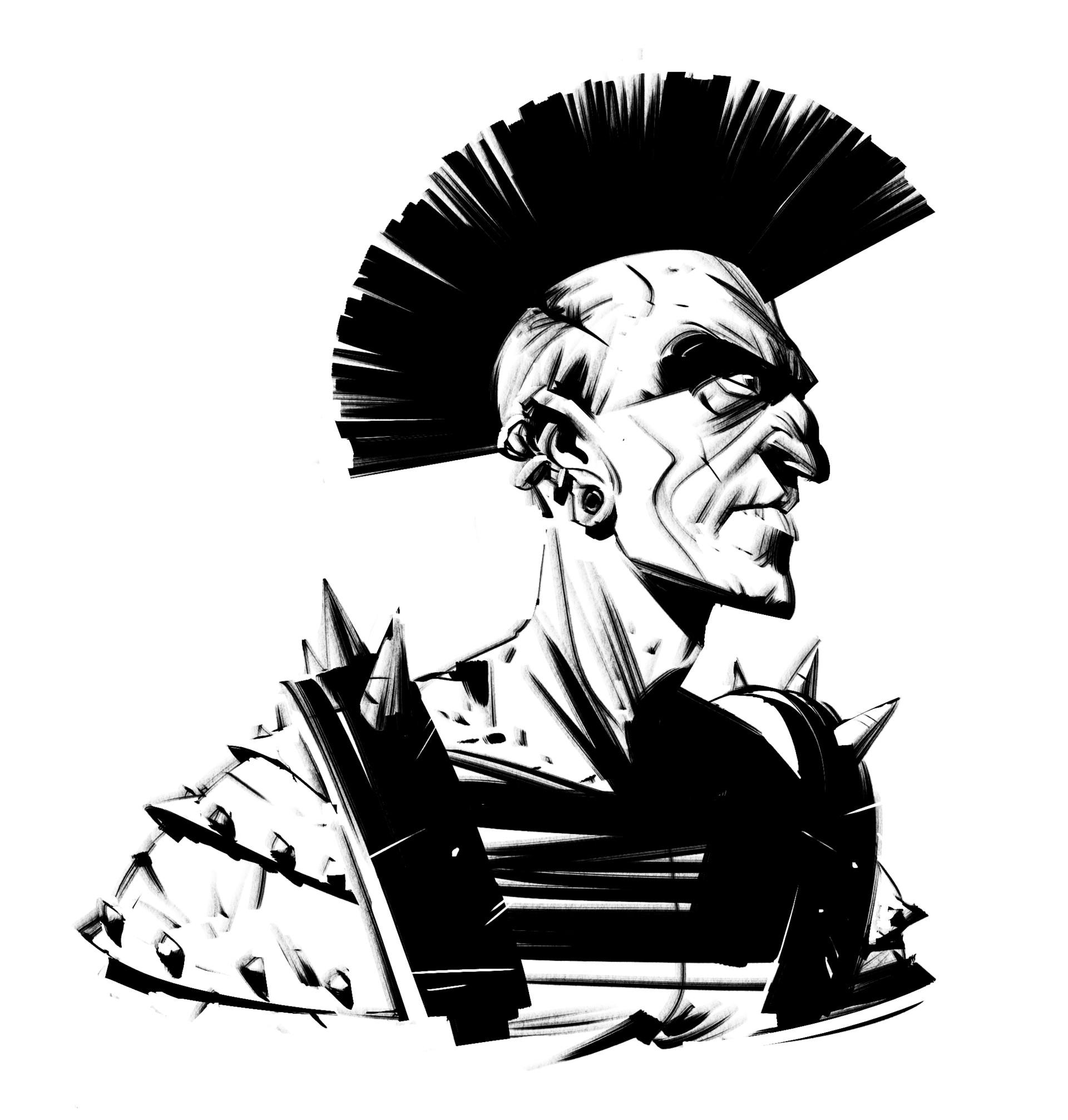 Renaud roche punk gladiator