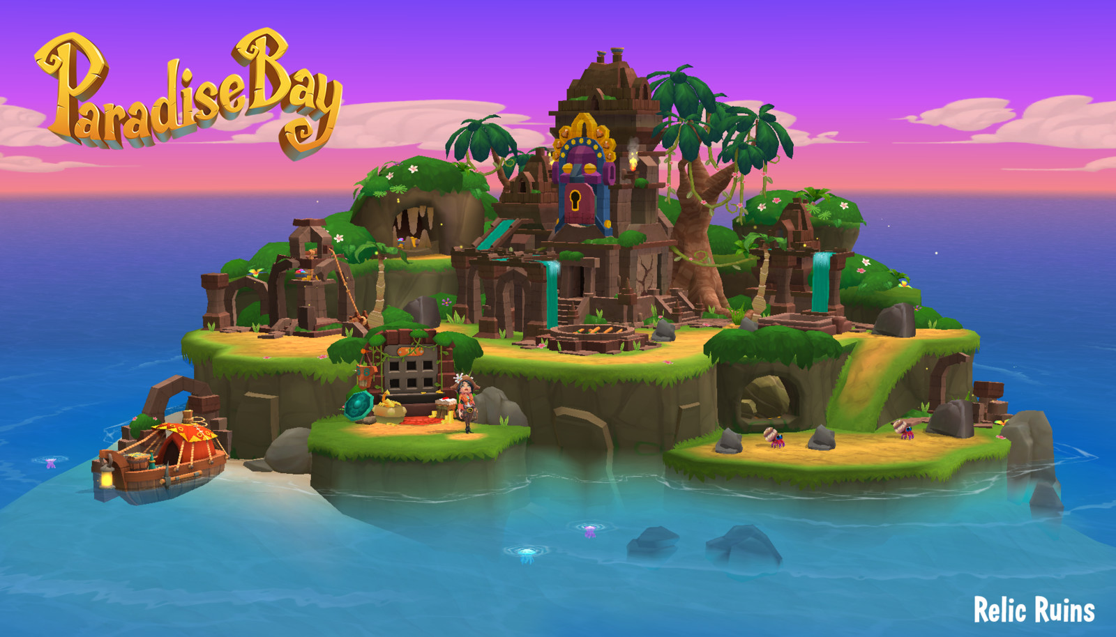 Relic Ruins for Paradise Bay (mobile)