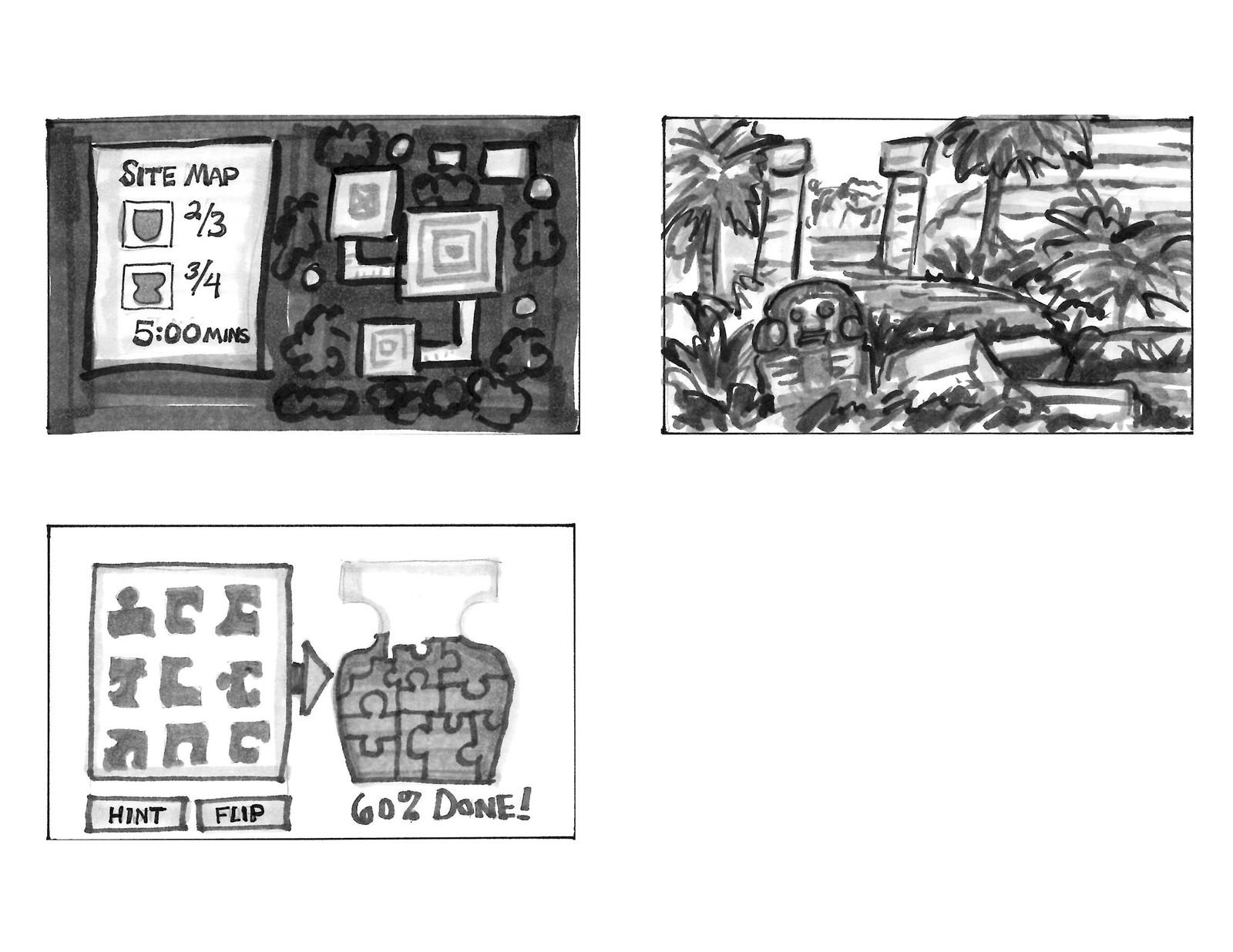 Maya storyboards