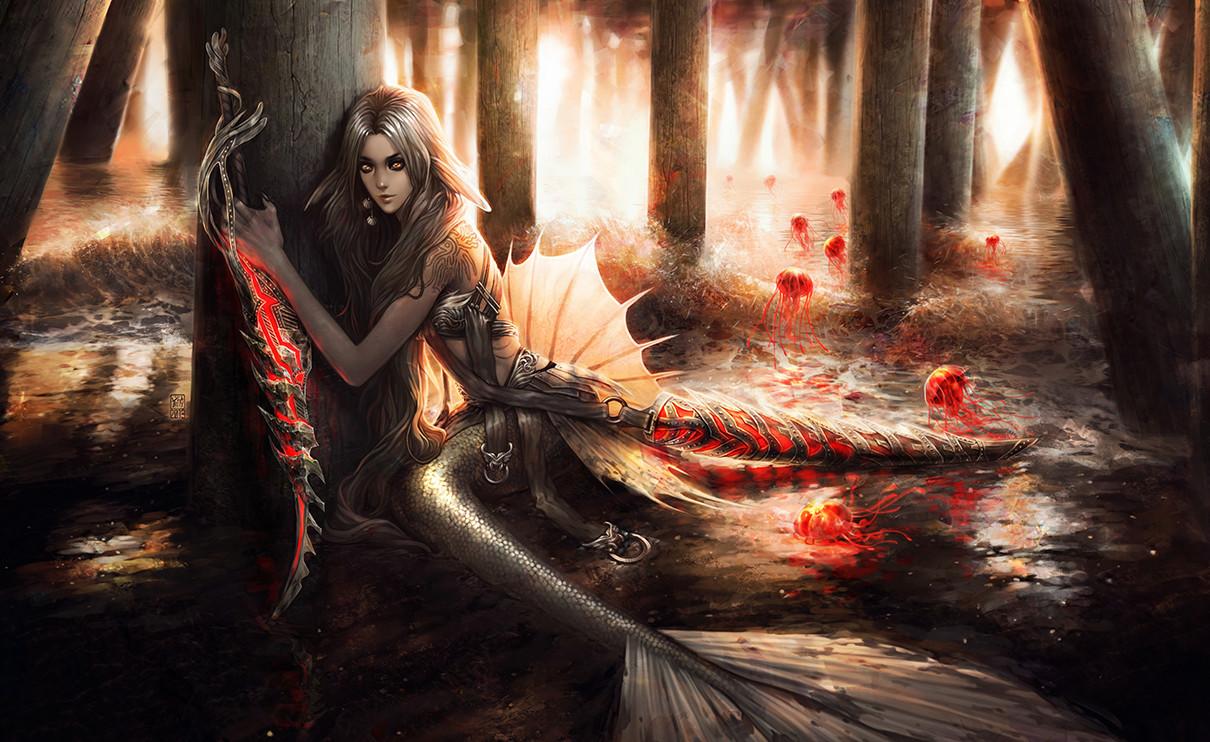 Valentina remenar mermaid s wisps by valentina remenar
