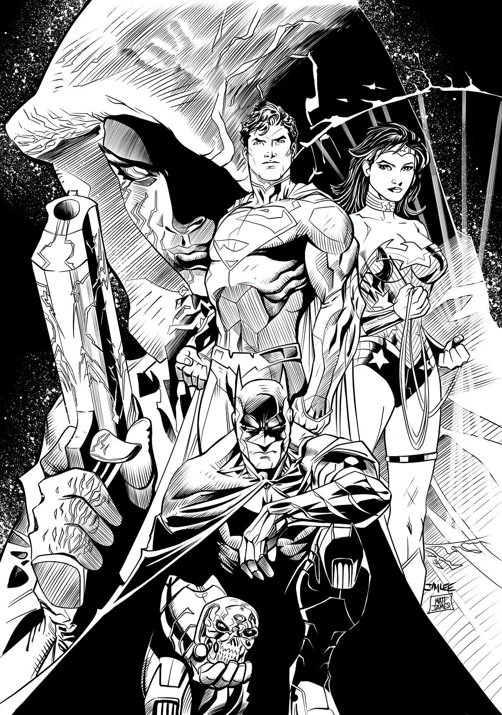 Matt james new 52 fcbd edition by mattjamescomicarts da1lquw