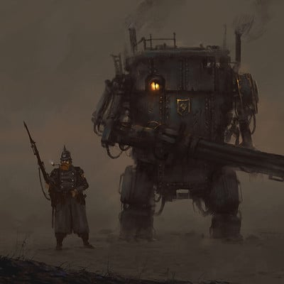 Jakub rozalski unit concept01a side