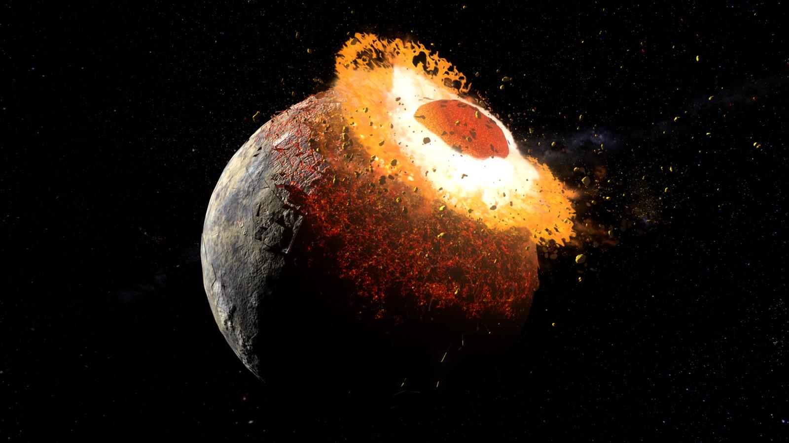 Pluto Collision