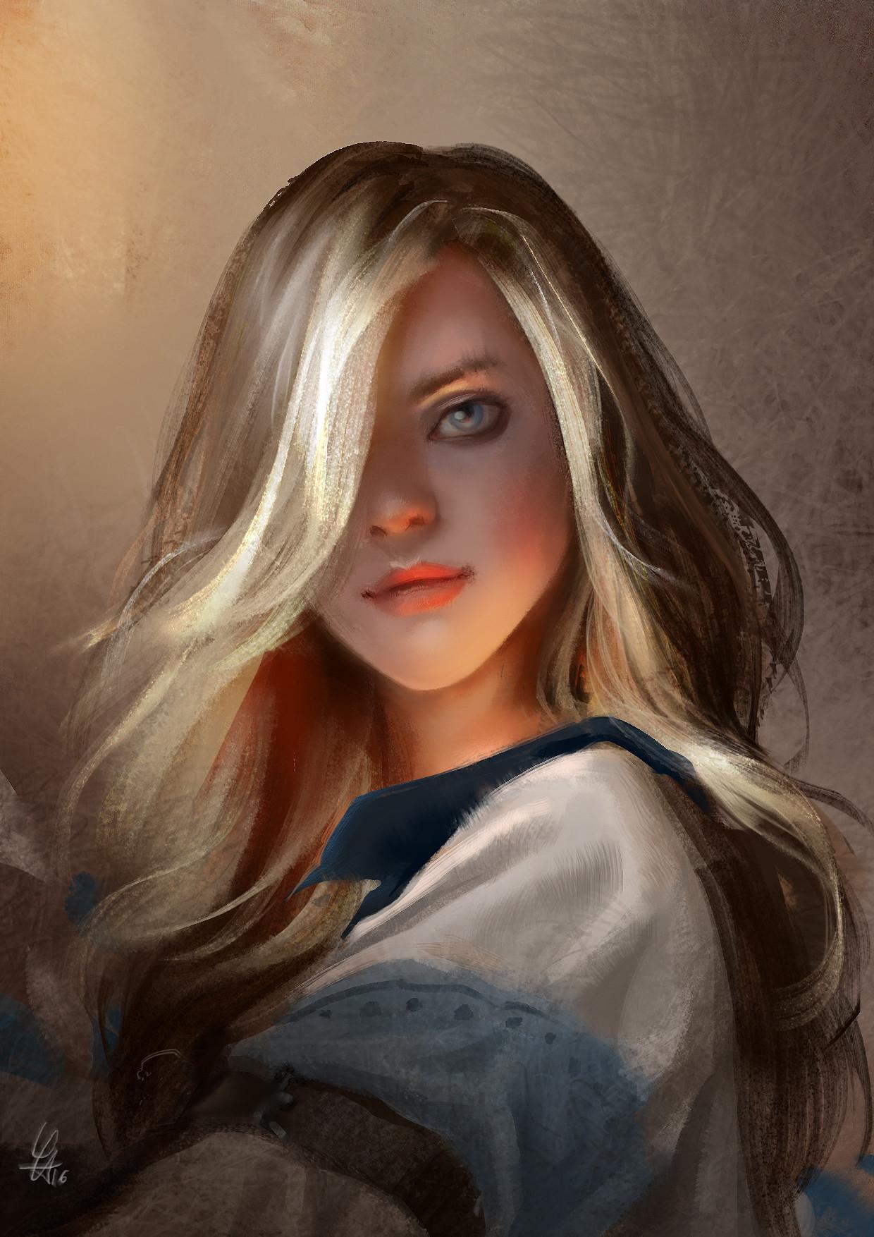 Paintings Blond