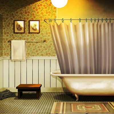 Christopher ables norman s bathroom 2