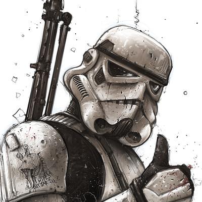 Shane molina 4k stormtrooper printoff