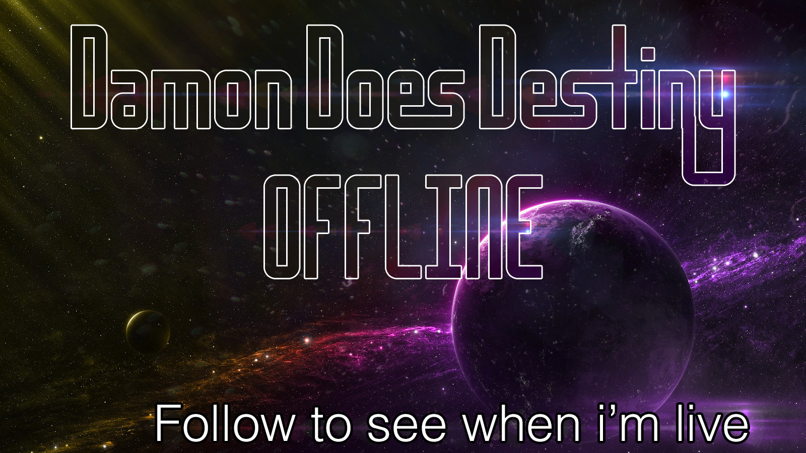 Joe cove offline banner damon