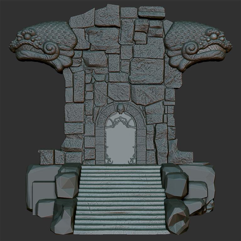 Zbrush portal