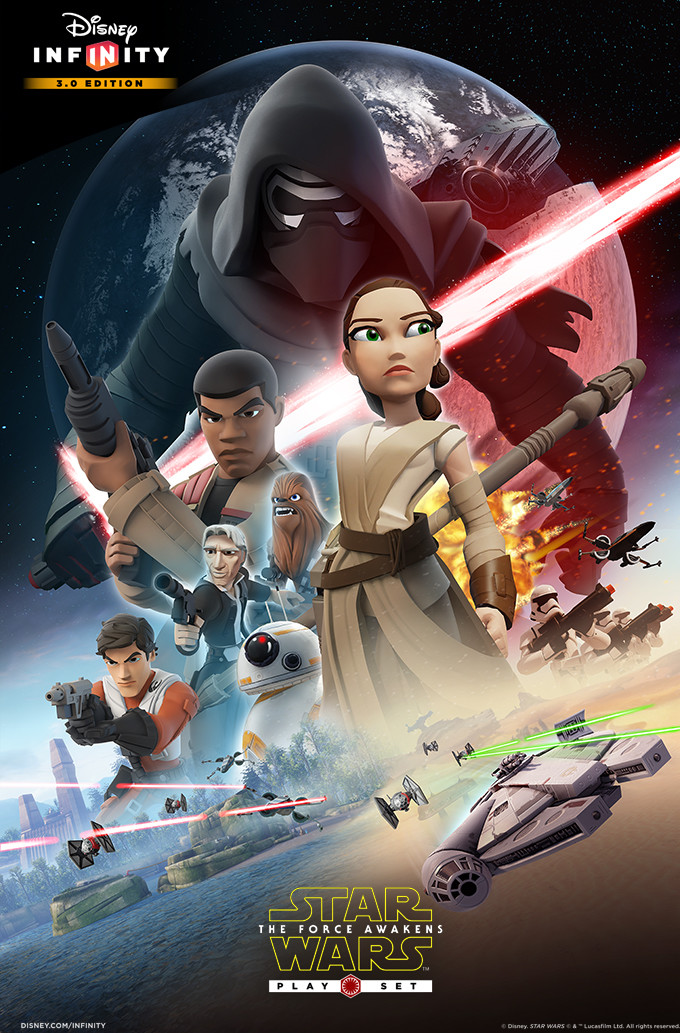 Disney Infinity compiled by E Bowden